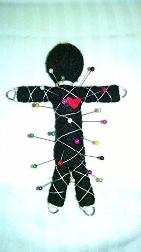 Karma Keepers Voodoo Doll Faceless - Black Base -