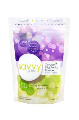 Savvy Green Oxygen Brightening Powder, 2.5 Lbs