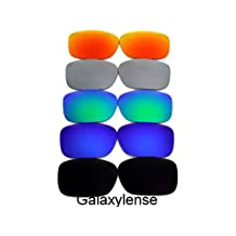Galaxy Replacement Lenses For Oakley Twoface Black&Blue&Green&Grey&Red Polarized,5 Pairs