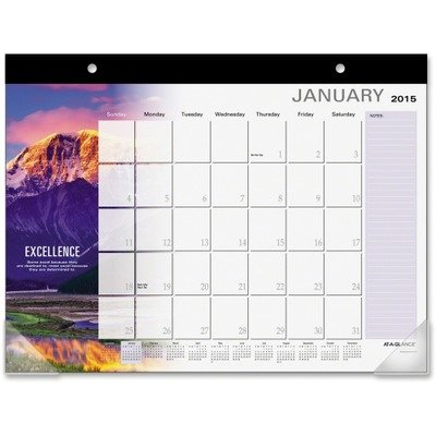 "Successories Motivational Desk Pad, 22"" x 17"", 2017 by AT-A-GLANCE"