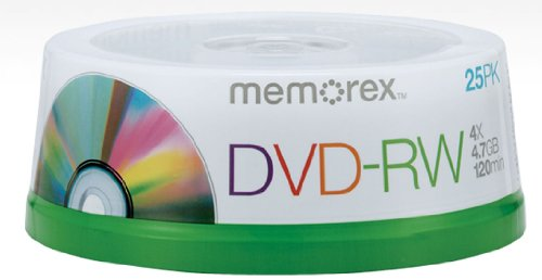 Bestselling DVD RW Discs