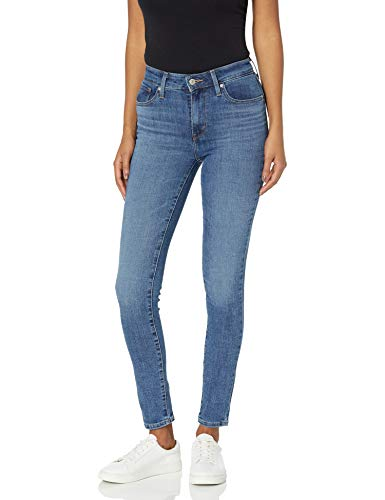 Levi's Women's 721 High Rise Skinny Jeans : Color - Soft Black (Waterless), Size - 28 Regular (B07DZXKCNH)
