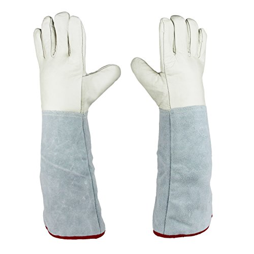 45cm (17.7'') Long Cryogenic Gloves LN2 Liquid Nitrogen Protective Gloves by U.S. Solid (Image #1)