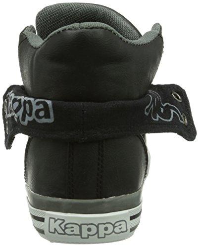 Kappa BARON Footwear unisex - zapatillas deportivas altas de material sintético unisex negro - Schwarz (1116 black/grey)