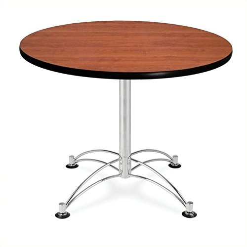 OFM KLT36RD-CHY Round Multi-Purpose Table, 36'', Cherry by OFM