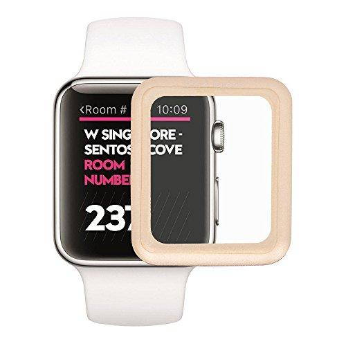 Aluminum Alloy Back Case for Apple Watch 42mm (Black) - 8