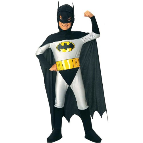 Classic Kid Costumes (Batman Classic Halloween Costume Children-USA Size 4-6 (Ages 3-4))