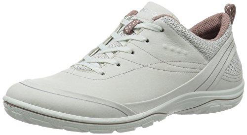 Les Femmes Ecco Arizona Chaussures De Fitness En Plein Air Blanc (ombre Blanche / Woodrose 59497)