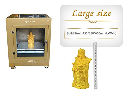 TC T4 3d Desktop Printer - 450 x 350 x 600 mm