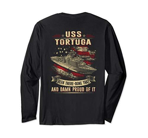 (Navy USS Tortuga (LSD-46) Long Sleeve)