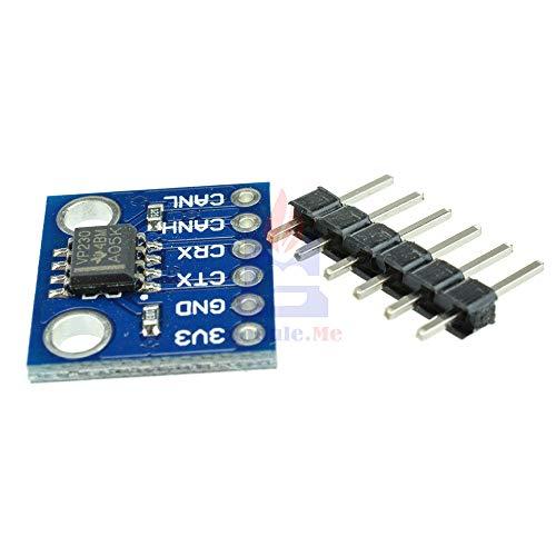 SN65HVD230 Can バストランシーバ通信モジュール熱保護スロープ制御 arduino のための