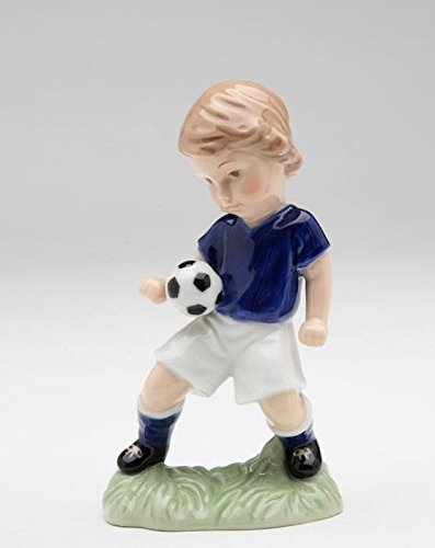 - Cosmos 10512 Boy Playing with Soccer Ball Figurine, 4-3/4-Inch