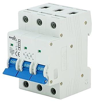 LS-Schalter Leitungsschutzschalter Sicherungsautomat B,C 1-polig 3-polig 6-63A