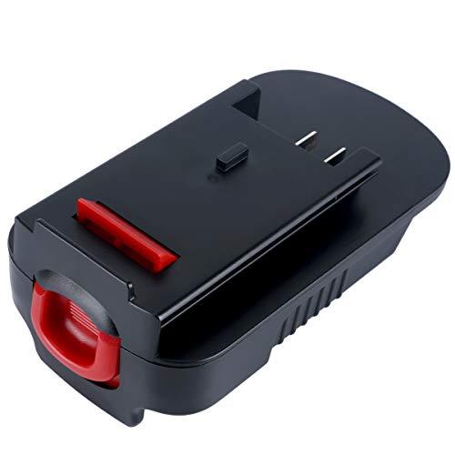 20V Battery Adapter Converter for Black Decker 18V Tools, Convert Black Decker LBXR20 & Porter Cable 20V PCC685L Lithium Battery for Black Decker 18V Tools NiCad NiMh HPB18 A18 FS18BX HPB18-OPE2