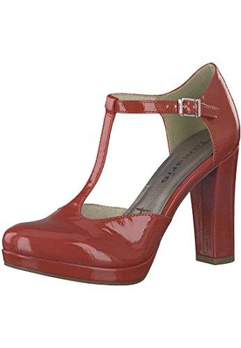 Tacco Donna 1 20 col Scarpe rosso Tamaris 24409 da 7PHqWdz0