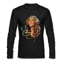 Tom Men's Celine Dion T-shirts L Black