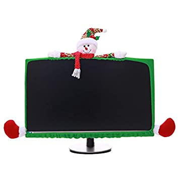 Amazon.com qiaoW Christmas LCD Display Cover TV Computer