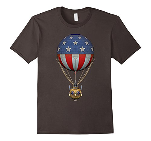 Men's Steampunk Stars and Stripes Hot Air Balloon 3XL Asp...