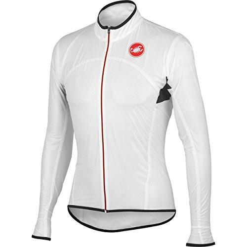 Castelli Sottile Due Jacket Transparent White, XL - Men's