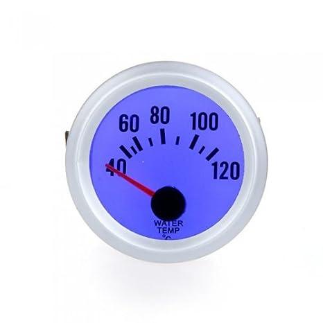 Kkmoon voltmetro voltmetro per auto Car 5, 1 cm 52 mm 8 –  16 V luce blu 1cm 52mm 8-16V luce blu