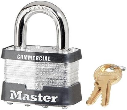 50mm LAMINATED STEEL CASE PADLOCK ~ 4pc set KEYED ALIKE ** Free Shipping **