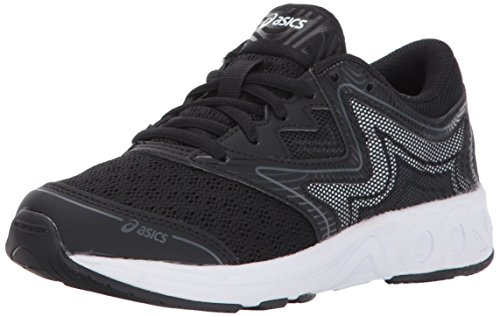 Asics Unisex Kids Noosa Gs Running Shoes  Black Carbon Mid Grey  3 Medium Us Big Kid