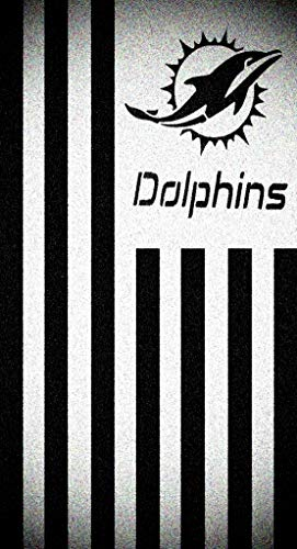 - Vertical Miami Dolphins Flag Stencil Mylar Football Signs Flags Sport Stencils