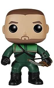 Funko Pop Nº 206 Arrow - Oliver Queen 'The Green Arrow Green Arrow original Funko - Figura DC Arrow 10 cm