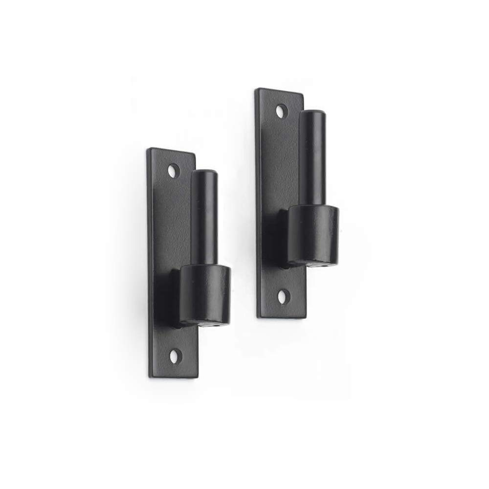 Timberlane Genuine Heavy Duty Narrow Plate Pintle, 1'' Offset Shutter Hardware, Black Powder Coated Stainless Steel by Timberlane