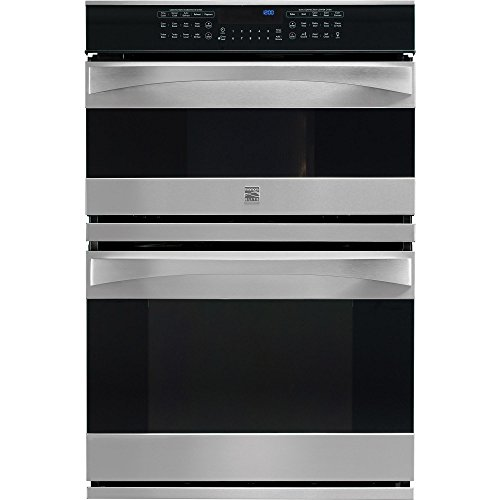 Kenmore Elite 49113 30″ Electric Wall Oven/Microwave Combination in Stainless Steel, includes delivery and hookup (Available in select cities only)