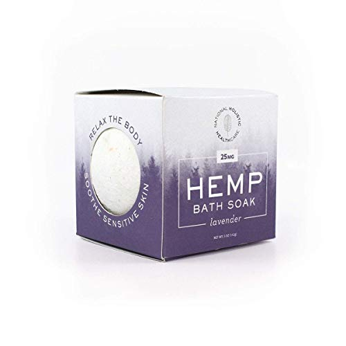 Organic-Hemp-Bath-Bomb-Lavender-25-MG-Ease-Tension-and-Sore-Muscles-Soften-Your-Skin-Reduce-Stress-and-Anxiety-THC-Free-Lab-Verified-Made-in-USA