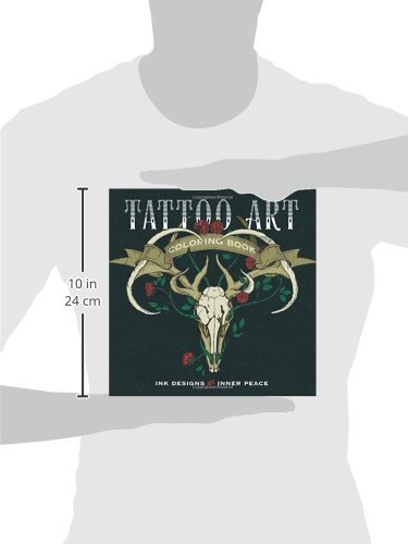 Tattoo Art Coloring Book Ink Designs For Inner Peace
