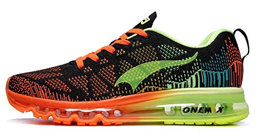 ONEMIX Mens Lightweight Running Shoes Air Max Cushion Athletic Sport Walking Sneaker