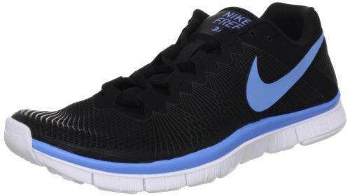 Nike Heren Gratis Trainer 3,0 Nrg Loopschoenen Zwart / Universiteit Blauw / Wit
