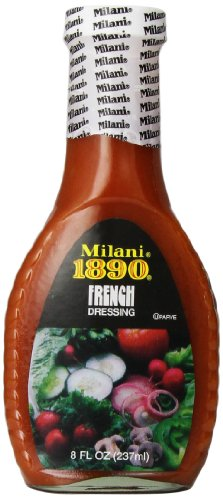 Mrs. Wages Milani 1890 French Dressing, 8-Ounce Bottles (Pack of 6)