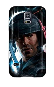 Hot New Best Aliens Colonial Marines Game Case Cover For Galaxy S5 With Perfect Design