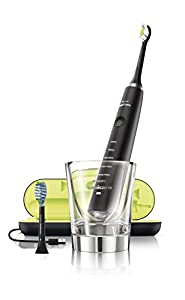 Philips Sonicare Diamond Clean Rechargeable Toothbrush w/Deep Clean Mode with Adaptive Clean Brush Head, Black