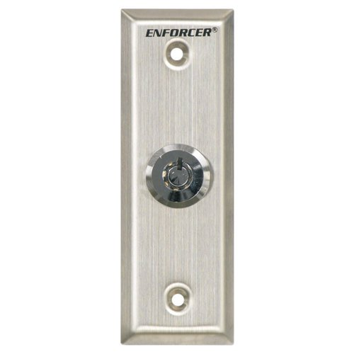 - Seco-Larm Enforcer Request-To-Exit Slimline Key Switch Plate (SD-71051-V0)