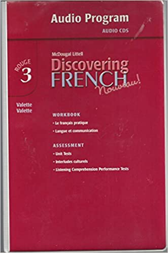 Amazon discovering french nouveau audio cd program level 3 discovering french nouveau audio cd program level 3 cdr edition fandeluxe Choice Image