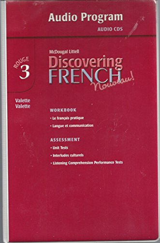 Discovering French, Nouveau!: Audio CD Program Level 3 by Brand: MCDOUGAL LITTEL