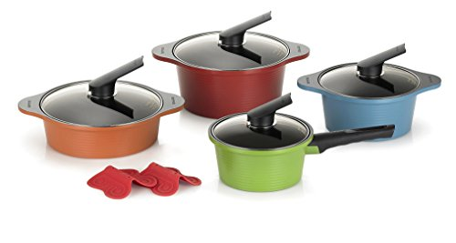 Happycall Anodized Nonstick 10 piece Dishwasher product image