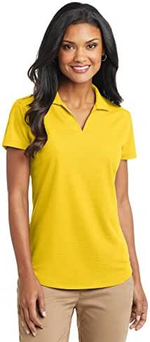 Port Authority L572 Women's Dry Zone Grid Polo Yellow XS