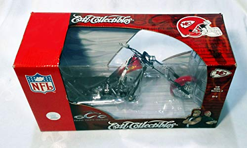 Kansas City Chiefs 2006 Orange County Chopper Limited Edition Die Cast Collectible