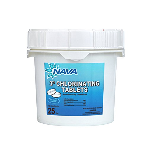 Nava chlorine large tablets - 25lbs - 3