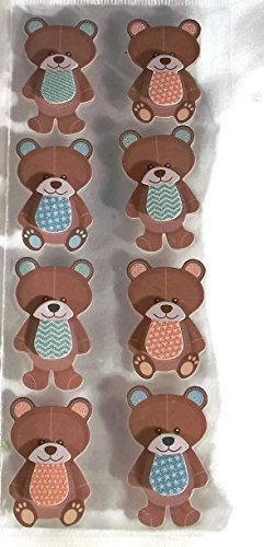 Baby Teddy Bear 3 Dimensional 3d Stickers | Scrapbooking |