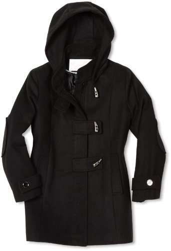 Jessica Simpson Coats Big Girls'  Horn Button Closure Coat