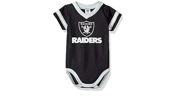 dedfd78d1 Amazon.com: Gerber Oakland Raiders Baby/Infant Dazzle Mesh Bodysuit: Sports  & Outdoors