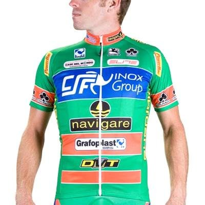 Giordana Men's Navigare Pro Team Short Sleeve Cycling Jersey - gi09-ssjy-team-navi (L)