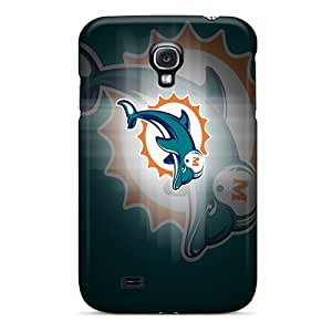 PhilHolmes Samsung Galaxy S4 Perfect Hard Phone Case Provide Private Custom High Resolution Miami Dolphins Skin [UFS18368UGEb]