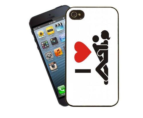 Sexe, I Love Coque rigide pour iPhone 5/5s-Housse Par Eclipse idées cadeaux